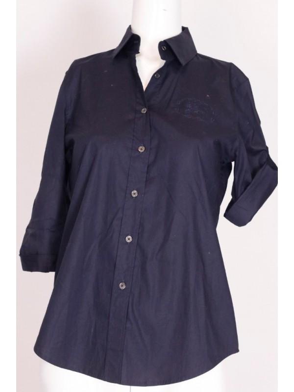 Camisa Burberry Algodão Azul Marinho