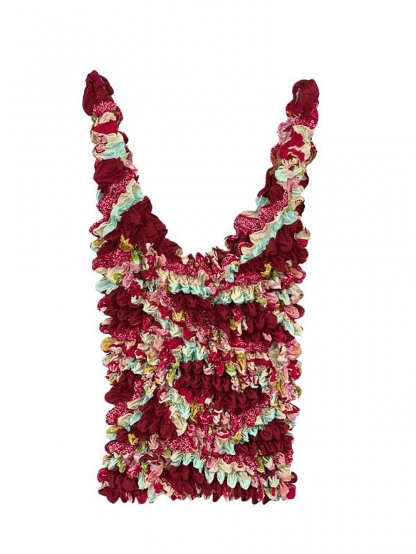 Bolsa Estampa Floral Colorida