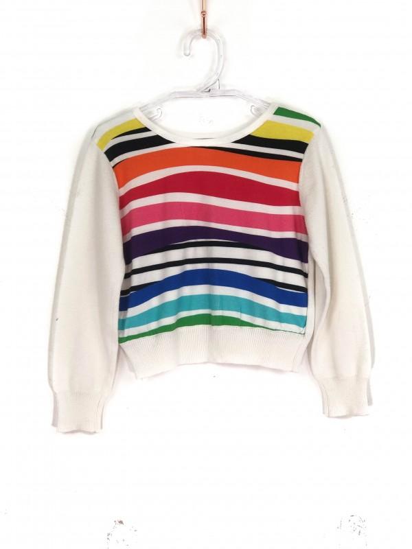 Camisa Infantil Gaultier Estampa Arco-íris