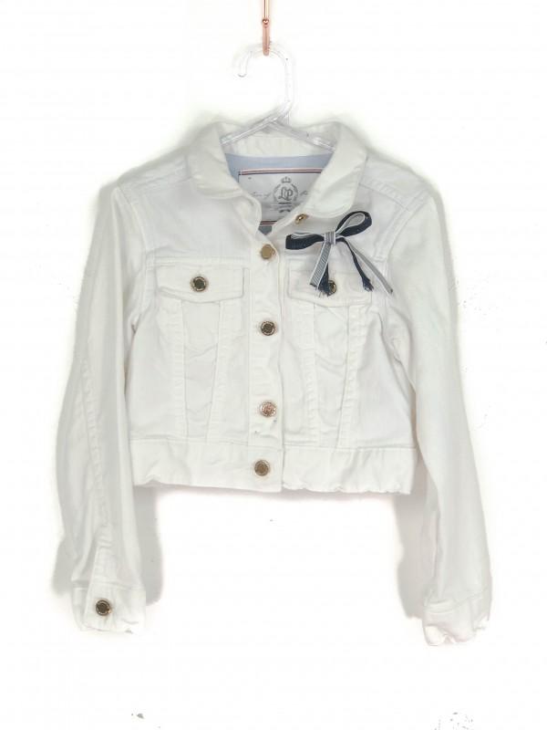 Jaqueta Infantil Lios of Porches Jeans Branca