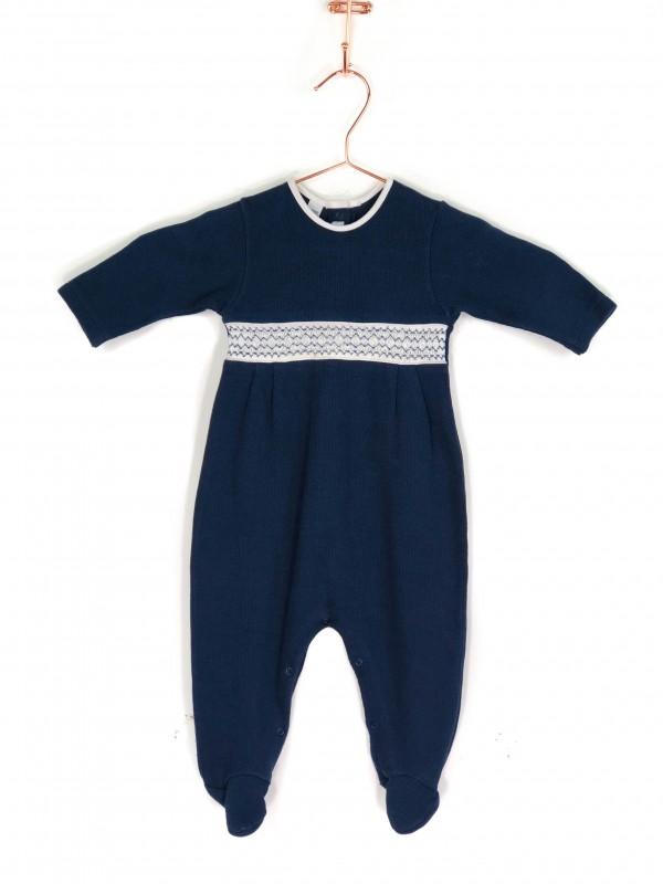 Macacão Infantil Daslu Azul Marinho