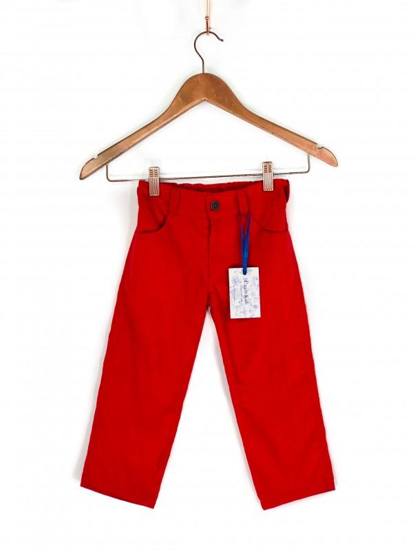 Calça Infantil Vermelha