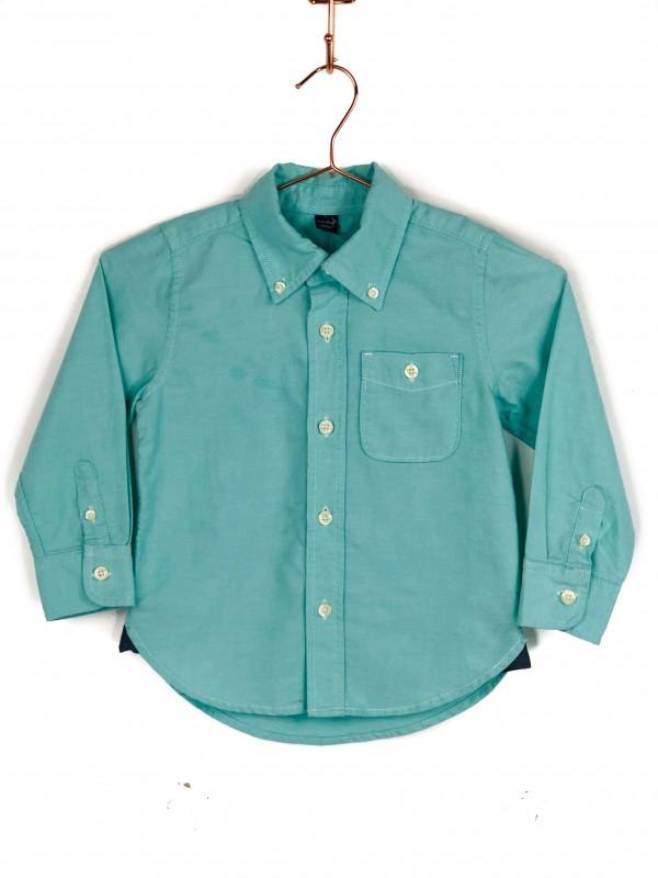 Camisa Infantil BabyGap Verde Água