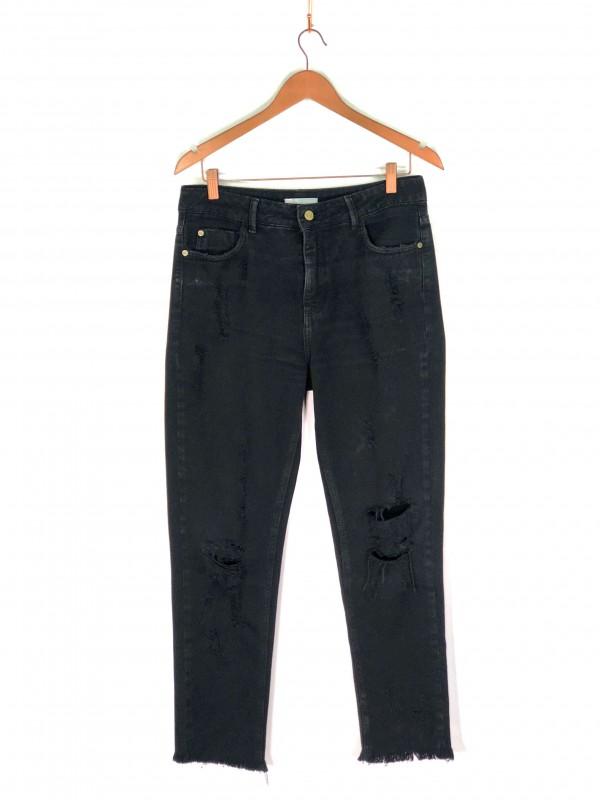 Calça NK Jeans Preta