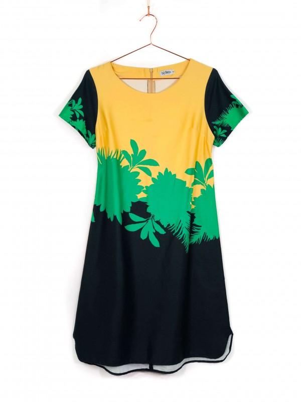 Vestido Midi Polly Maggoo Estampa Floral