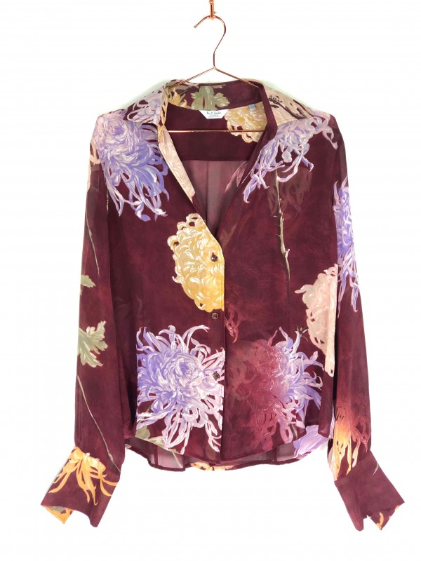 Camisa Paul Smith Estampa Floral Vinho