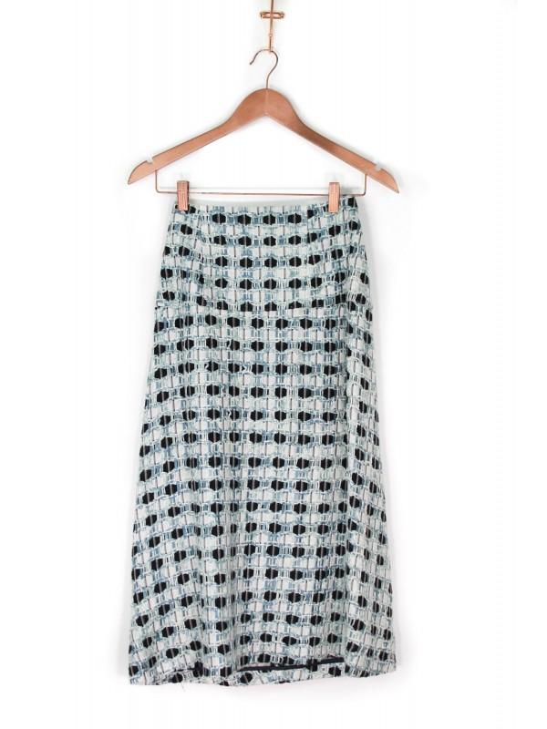 Saia Midi De Goeye Tweed