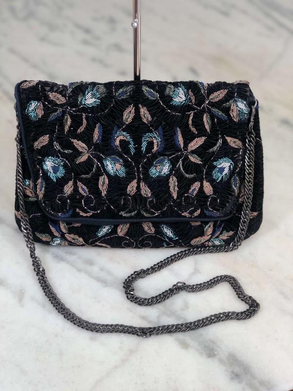 Bolsa Transversal Zara Preta