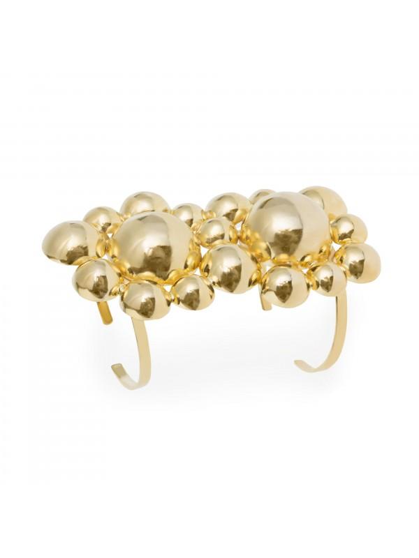 Bracelete Sputink Dourado Bolas