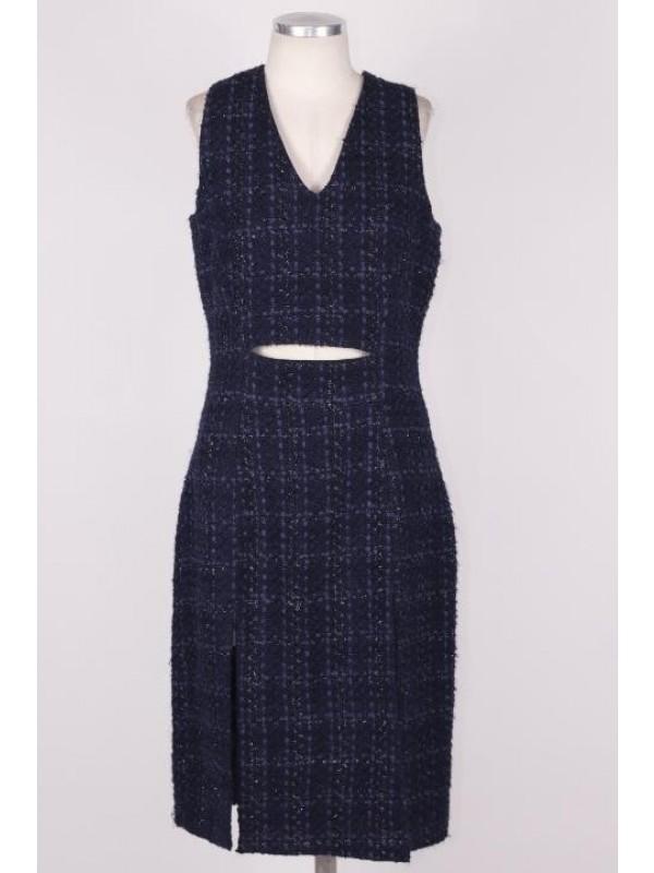 Vestido Giuliana Romanno Azul Marinho