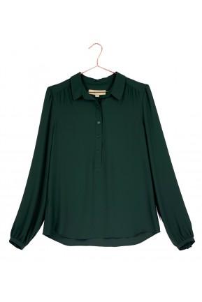 Camisa Loft Verde Escuro