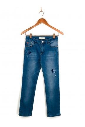 Calça Infantil Rapsodia Jeans