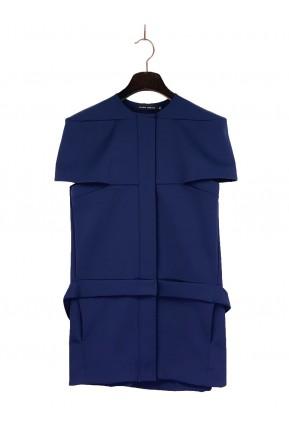 Vestido Curto Gloria Coelho Azul Marinho