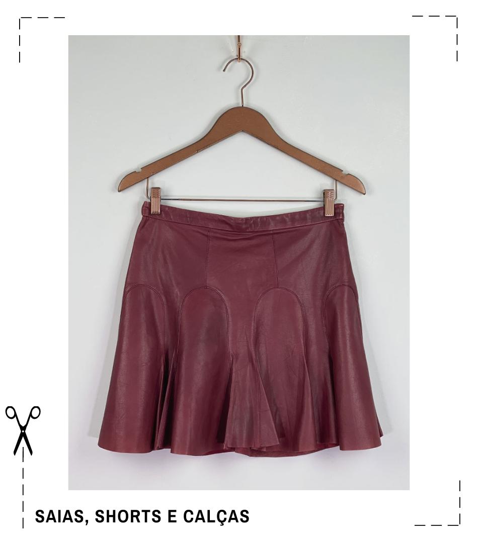 saias, shorts e calças